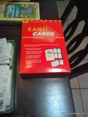 tuttle kanji flashcards
